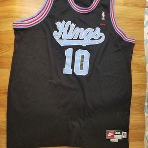 82e9e92cd458 Nike Shirts - Mike Bibby  10 Sacramento Kings Nike NBA Jersey 3X